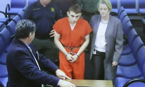 First appearance in court for high school shooting suspect Nikolas Cruz.