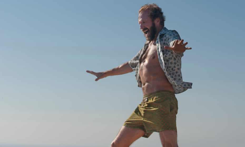 Fiennes in A Bigger Splash.