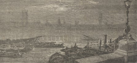 Gustave Doré's Evening on the Thames.