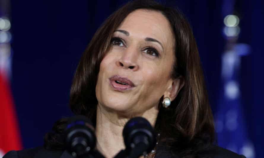 US vice-president Kamala Harris