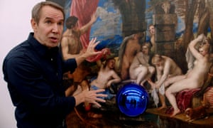 Painter and delegator … Jeff Koons in The Price of Everything.