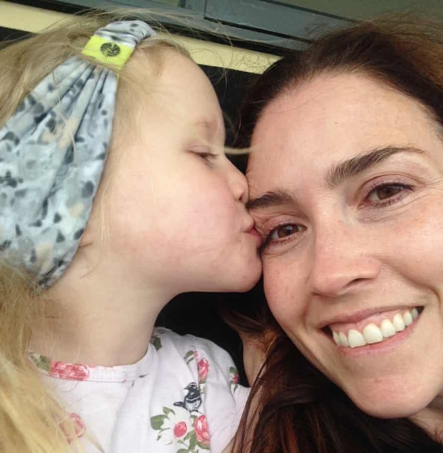 Belinda Barnet and daughter Laura