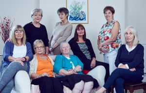 Women from a Leeds support group. From left, standing: Jill, Margaret , and Alison; seated: Janet, Margaret, Beryl, Kate and Sue all had children adopted at a young age. In the 30 years after the Second World War, half a million women had a child adopted most were babies born to unmarried mothers.