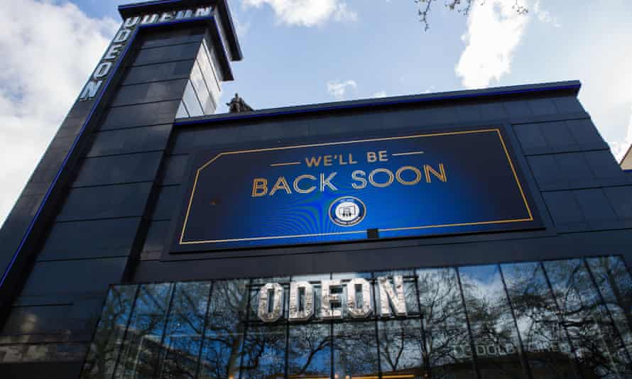 The Odeon is the UK's largest cinema chain. Pandemic restrictions led to an 80% slump in box office revenues.