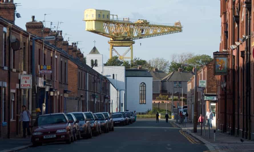 Barrow-in-Furness in Cumbria
