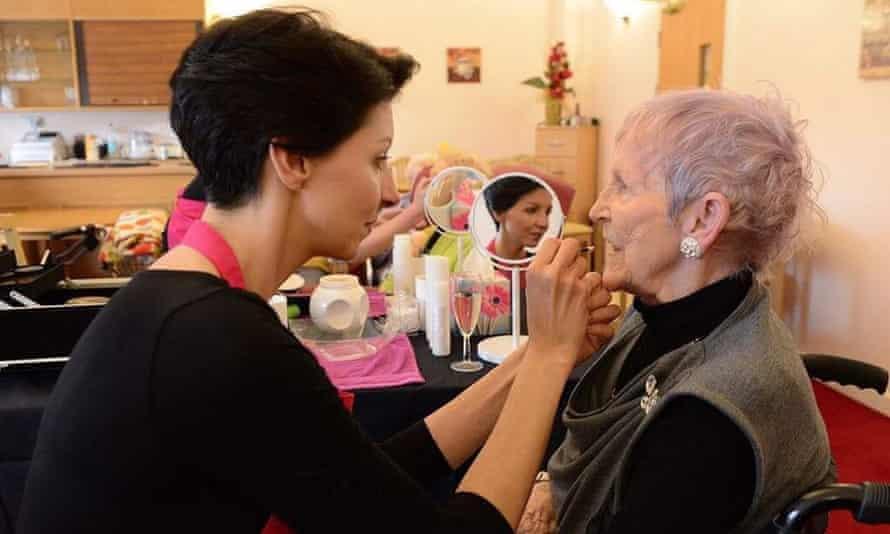 Beauty treatments can help boost self esteem.