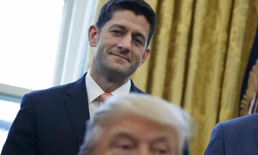 Paul Ryan said he would not 'prejudge the circumstances surrounding this'.