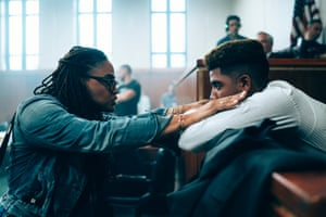 Ava DuVernay on the set of When They See Us