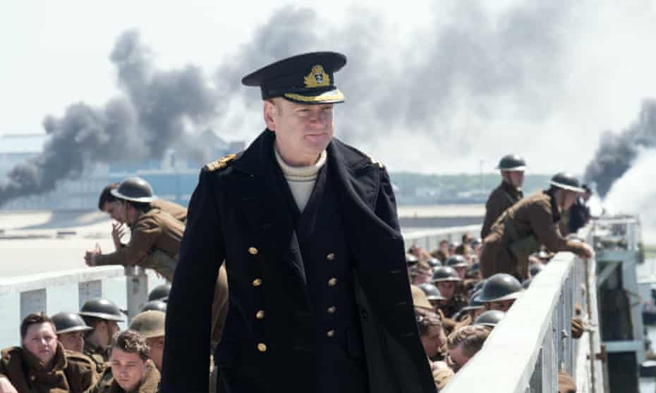 We will fight them on the pristine beaches … Kenneth Branagh in Dunkirk.