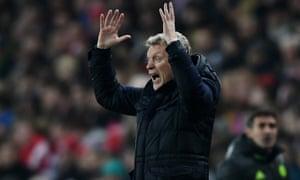 David Moyes didn't see Sunderland having no money in the transfer window