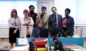 Damned review – pitch black comedy finds the funny in social