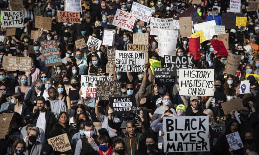 'If we want to live, then we must continue to join, support, and create social movements and protests to end policing.'
