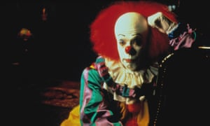 Tim Curry as Pennywise in the original It