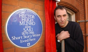 Will Self plaque HH Munro
