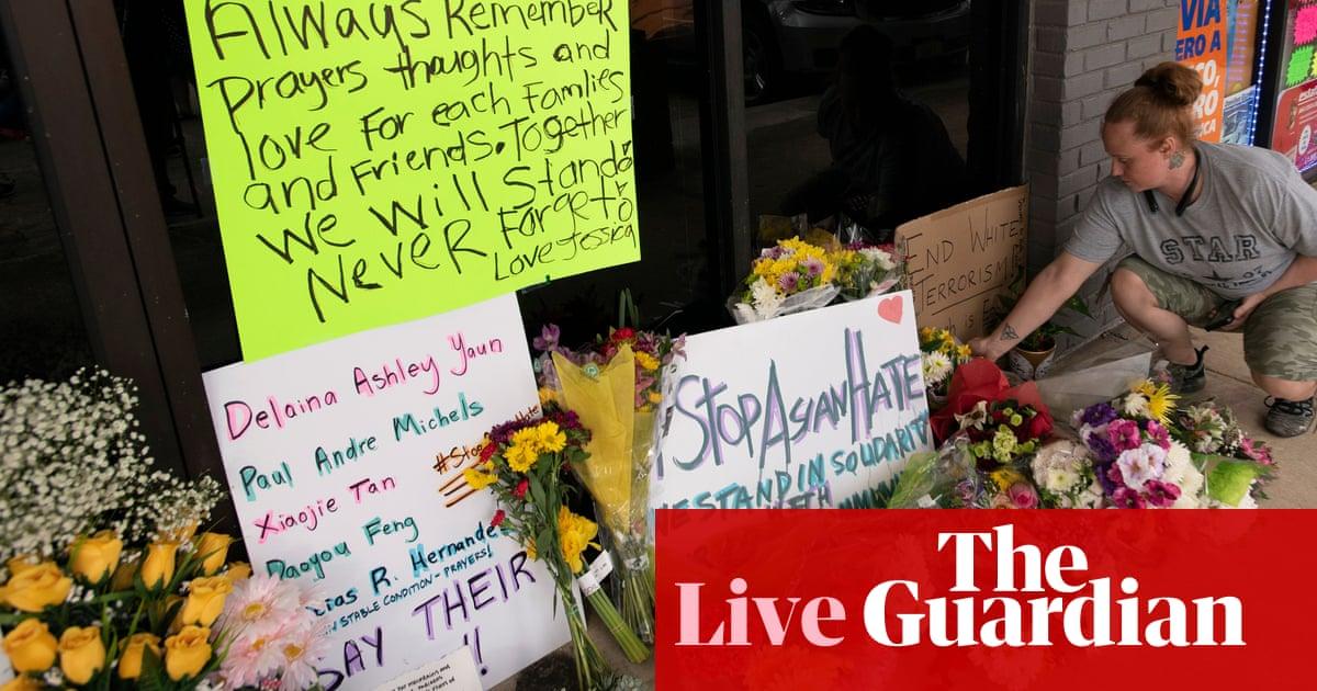 Biden and Harris head to Georgia to meet community leaders after Atlanta shooting – live updates