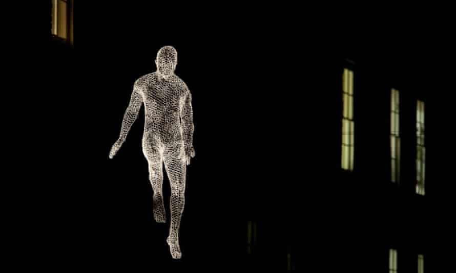 Illuminated figures by French artist Cédric Le Borgne, part of Lumiere London, will be located between Princess Arcade, Jermyn Street and St James's Square in Mayfair.
