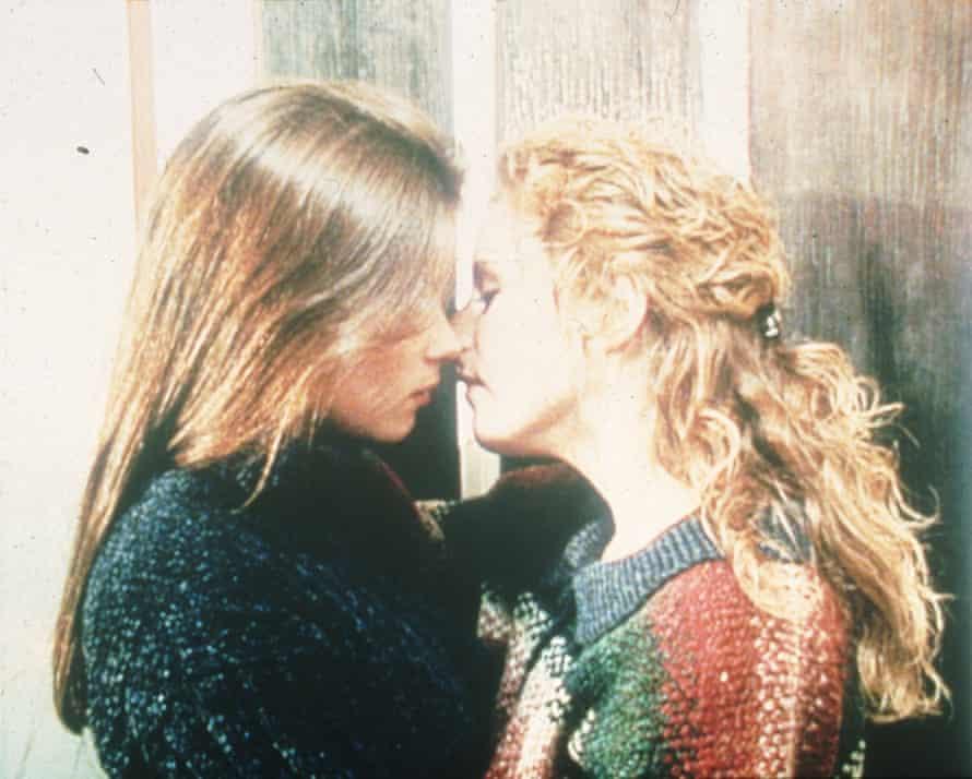 Anna Friel and Nicola Stephenson in Brookside.