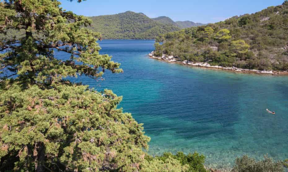 Croatia - The landscape of national park Mljet island