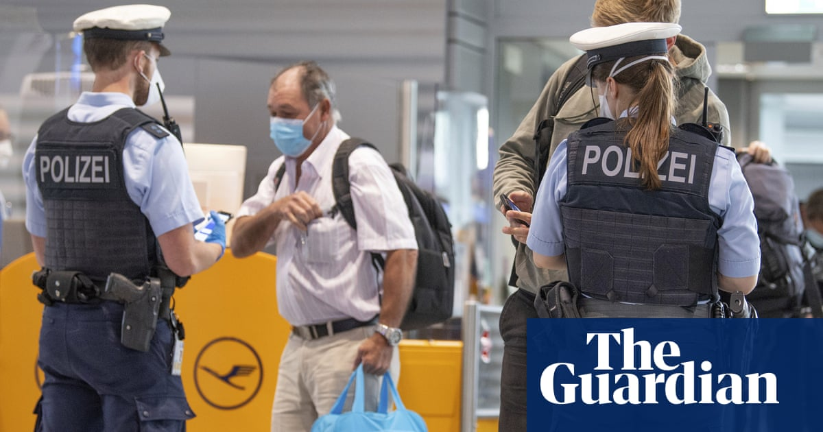 Germany to ease Covid travel restrictions on UK travellers from Wednesday