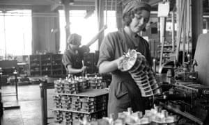 The countdown to another world war saw increasing numbers of British women working in factories.