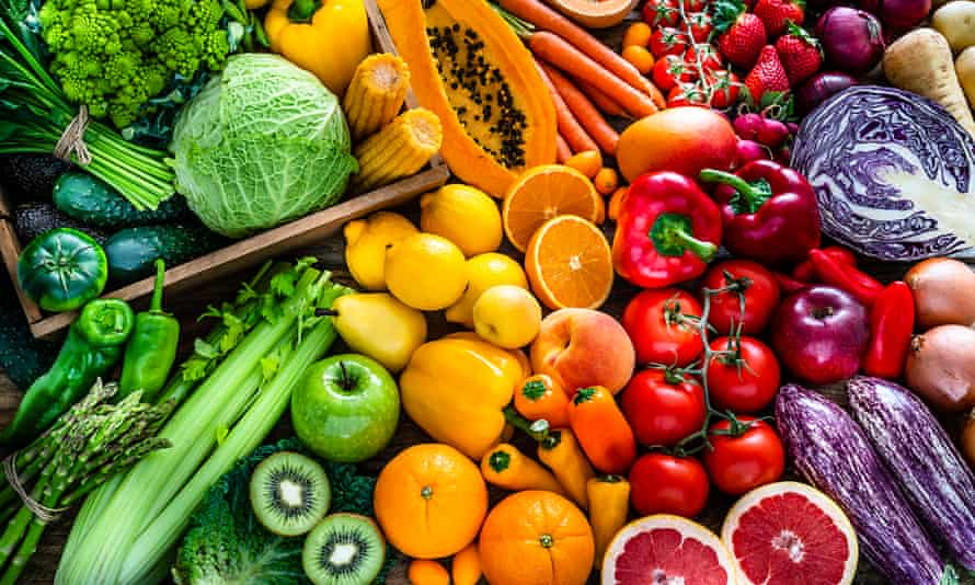 Fruit and vegetables … you need the perfect daily combination.
