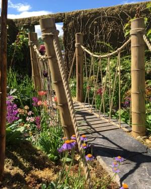 Chinese Hillside Garden at gardening Scotland 2017
