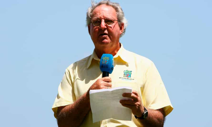 Tony Cozier died in May 2016