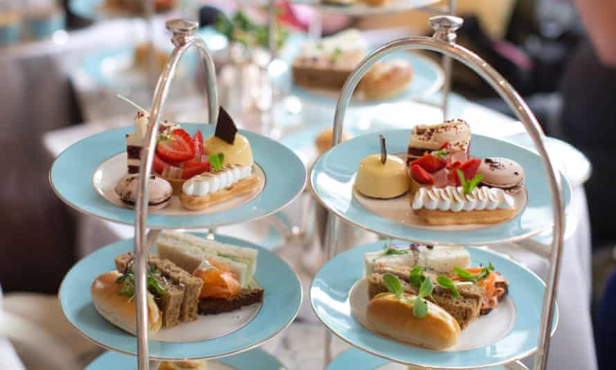 Afternoon tea – go on, treat your social worker.