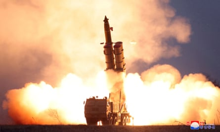 A projectile is in North Korea. Japanese broadcaster NHk mistakenly reported a launch on Friday.