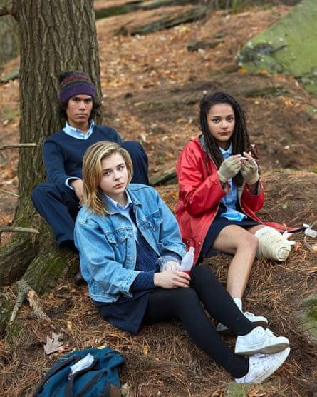 Forrest Goodluck, Chloë Grace Moretz and Sasha Lane in The Miseducation of Cameron Post