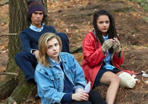 Forrest Goodluck, Chloë Grace Moretz and Sasha Lane in The Miseducation of Cameron Post.