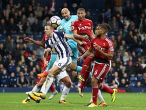 Richarlison de Andrade scores Watford equaliser in the 95th minute to draw the game against West Bromwich 2-2 at The Hawthorns.