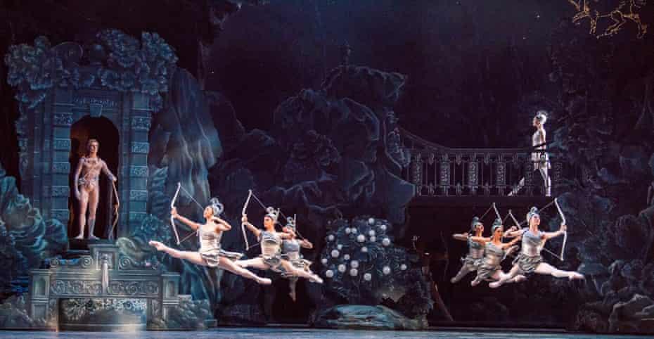 the Royal Ballet production of Sylvia at the Royal Opera House, London.