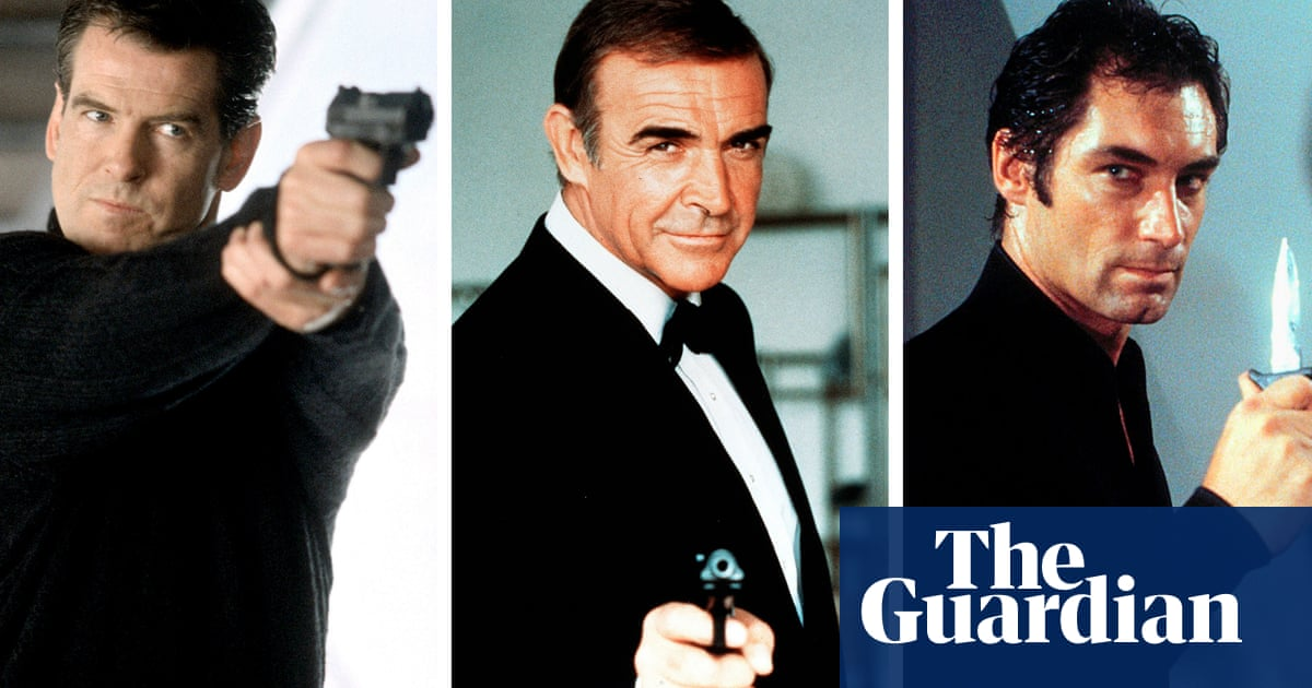 Sean Connery Voted Best Bond With Timothy Dalton And Pierce Brosnan Runners Up James Bond The Guardian