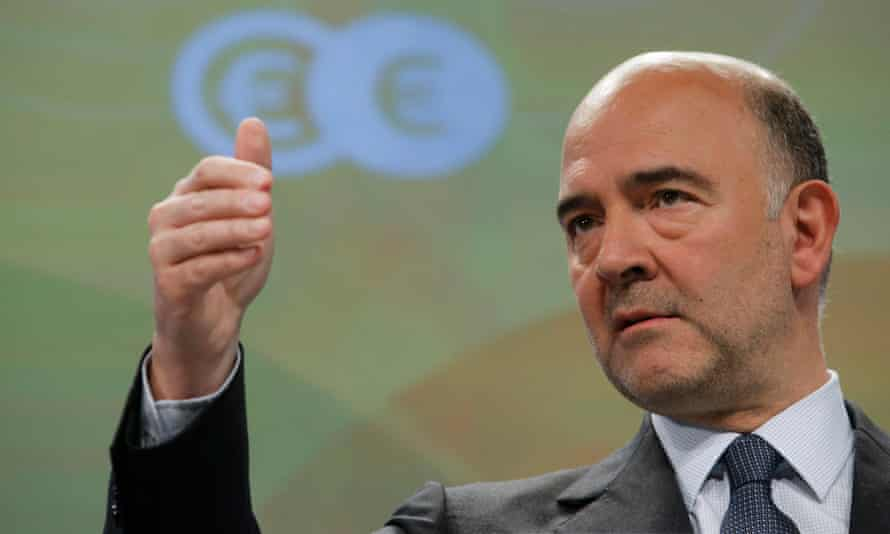 European commissioner for tax Pierre Moscovici
