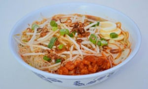 Dish of Penang Hokkien Mee at Cafe Malaysia, Cardiff