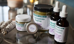 A collection of Sisters of the Valley medicinal marijuana products.