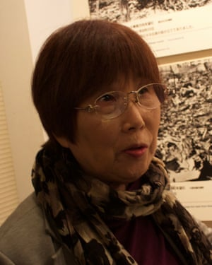 Keiko Ogura, a survivor of the attack.