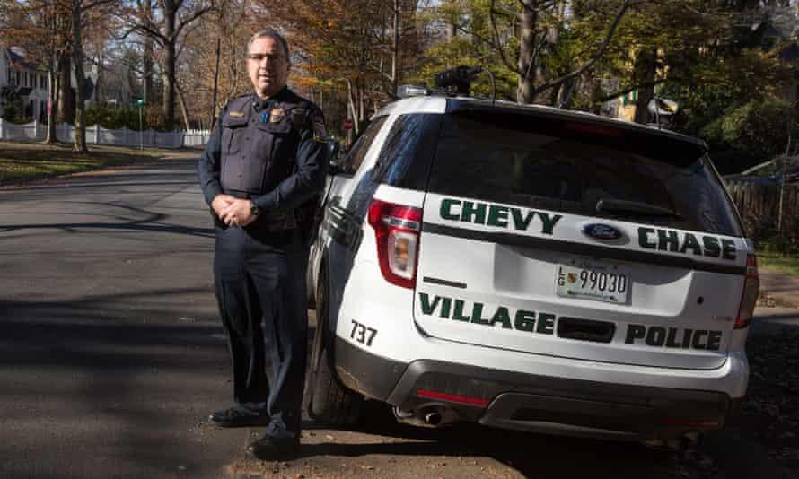 Chief Fitzgerald is the head of an 11-person police force that patrols the neighborhood.
