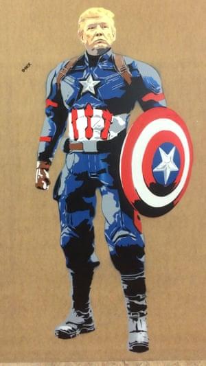 Captain America in Somerset.