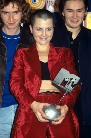 The Cranberries won best song for Zombie at the 1995 MTV Awards