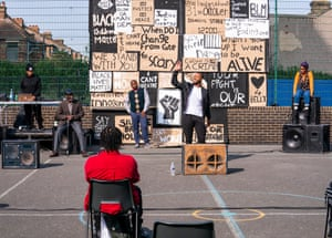 846 Live, a theatre performance responding to the killing of George Floyd, staged as part of Greenwich+Docklands international festival in September.