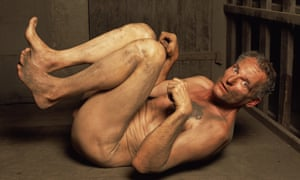 Call for justice … Dog Position II, from Andres Serrano's Torture series.