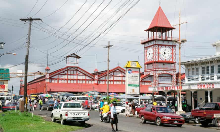 Georgetown in Guyana