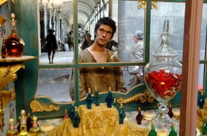 Heavy-handed … Ben Whishaw in Perfume.