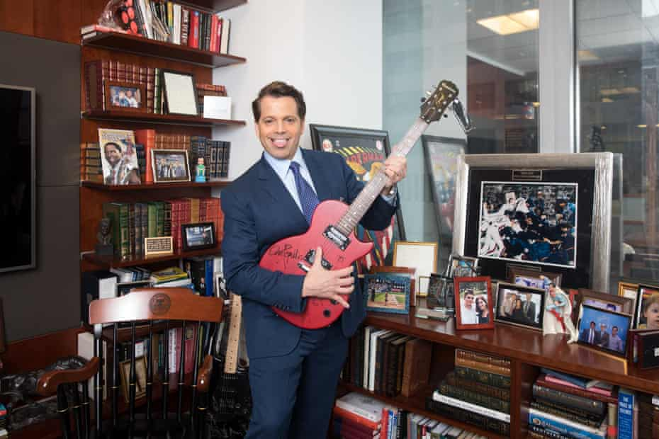 Anthony Scaramucci photographed in his office in New York, May 2018.