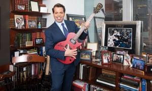 Anthony Scaramucci, former White House communications director, photographed in his New York office in May 2018