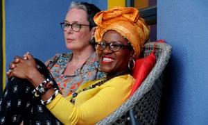 Mpho Tutu and Professor Marceline Furth.