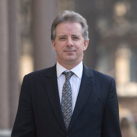 Christopher Steele, the former MI6 agent who compiled a dossier on Donald Trump.