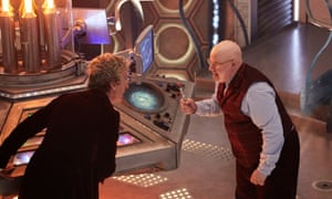 So much to chew on … why is Nardole with the Doctor? And how did he fix Nardole's head back on?